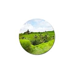 Bali Rice Terraces Landscape Rice Golf Ball Marker (10 Pack) by Nexatart