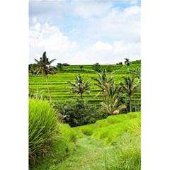 Bali Rice Terraces Landscape Rice 5 5  X 8 5  Notebooks by Nexatart