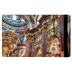 Baroque Church Collegiate Church Apple Ipad 3/4 Flip Case by Nexatart