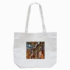 Baroque Church Collegiate Church Tote Bag (white) by Nexatart