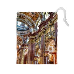 Baroque Church Collegiate Church Drawstring Pouches (large)  by Nexatart