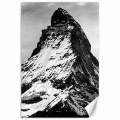 Matterhorn Switzerland Mountain Canvas 24  X 36  by Nexatart