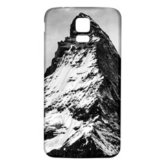Matterhorn Switzerland Mountain Samsung Galaxy S5 Back Case (white) by Nexatart