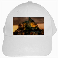 Mont St Michel Sunset Island Church White Cap by Nexatart