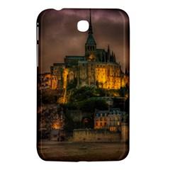 Mont St Michel Sunset Island Church Samsung Galaxy Tab 3 (7 ) P3200 Hardshell Case