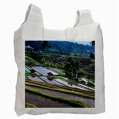 Rice Terrace Rice Fields Recycle Bag (two Side)