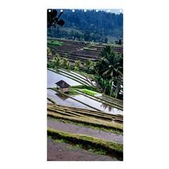 Rice Terrace Rice Fields Shower Curtain 36  X 72  (stall)  by Nexatart