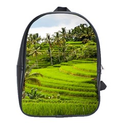 Rice Terrace Terraces School Bag (large) by Nexatart