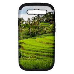 Rice Terrace Terraces Samsung Galaxy S Iii Hardshell Case (pc+silicone) by Nexatart