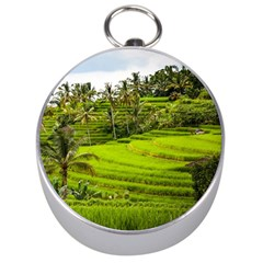 Rice Terrace Terraces Silver Compasses by Nexatart