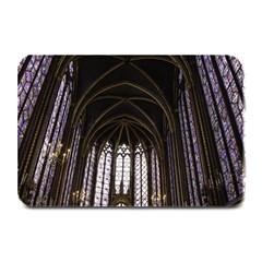 Sainte Chapelle Paris Stained Glass Plate Mats by Nexatart