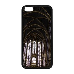 Sainte Chapelle Paris Stained Glass Apple Iphone 5c Seamless Case (black) by Nexatart