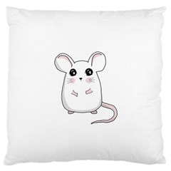Cute Mouse Standard Flano Cushion Case (two Sides) by Valentinaart