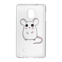 Cute Mouse Galaxy Note Edge by Valentinaart