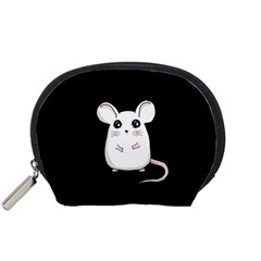 Cute Mouse Accessory Pouches (small)  by Valentinaart