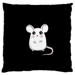 Cute Mouse Large Flano Cushion Case (two Sides) by Valentinaart