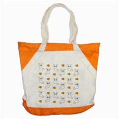 Cute Mouse Pattern Accent Tote Bag by Valentinaart