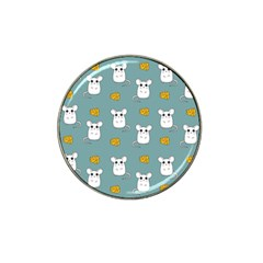 Cute Mouse Pattern Hat Clip Ball Marker (10 Pack) by Valentinaart