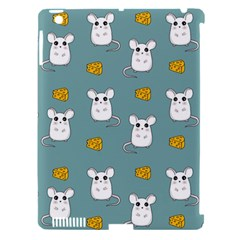 Cute Mouse Pattern Apple Ipad 3/4 Hardshell Case (compatible With Smart Cover) by Valentinaart