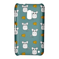 Cute Mouse Pattern Nokia Lumia 620 by Valentinaart