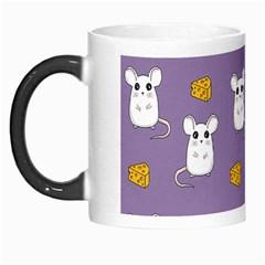 Cute Mouse Pattern Morph Mugs by Valentinaart
