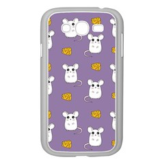 Cute Mouse Pattern Samsung Galaxy Grand Duos I9082 Case (white) by Valentinaart