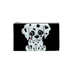 Cute Dalmatian Puppy  Cosmetic Bag (small)  by Valentinaart