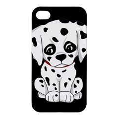 Cute Dalmatian Puppy  Apple Iphone 4/4s Hardshell Case by Valentinaart