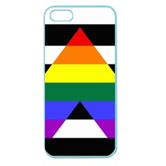 Straight Ally Flag Apple Seamless Iphone 5 Case (color) by Valentinaart