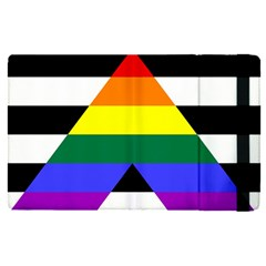 Straight Ally Flag Apple Ipad Pro 12 9   Flip Case by Valentinaart