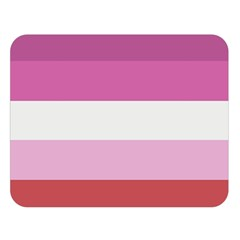 Lesbian Pride Flag Double Sided Flano Blanket (large)  by Valentinaart
