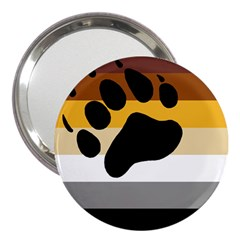 Bear Pride Flag 3  Handbag Mirrors by Valentinaart