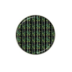 Bamboo Pattern Hat Clip Ball Marker by ValentinaDesign