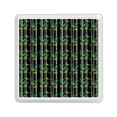 Bamboo Pattern Memory Card Reader (square)  by ValentinaDesign