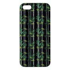 Bamboo Pattern Apple Iphone 5 Premium Hardshell Case by ValentinaDesign