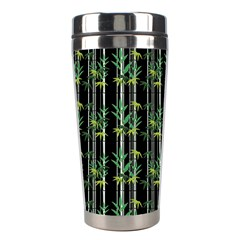Bamboo Pattern Stainless Steel Travel Tumblers by ValentinaDesign