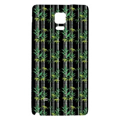 Bamboo Pattern Galaxy Note 4 Back Case by ValentinaDesign