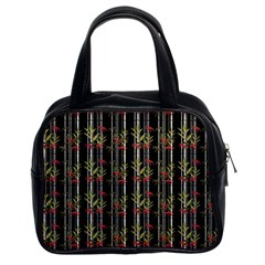 Bamboo Pattern Classic Handbags (2 Sides) by ValentinaDesign