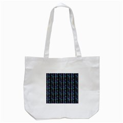 Bamboo Pattern Tote Bag (white) by ValentinaDesign