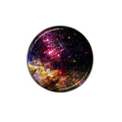 Space Colors Hat Clip Ball Marker by ValentinaDesign