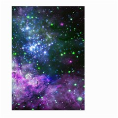 Space Colors Large Garden Flag (two Sides) by ValentinaDesign