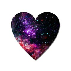 Space Colors Heart Magnet by ValentinaDesign