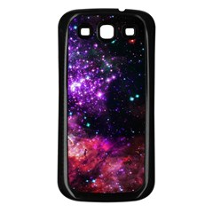 Space Colors Samsung Galaxy S3 Back Case (black) by ValentinaDesign