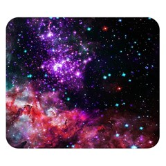 Space Colors Double Sided Flano Blanket (small)