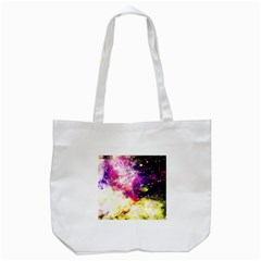 Space Colors Tote Bag (white) by ValentinaDesign