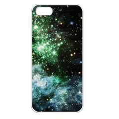 Space Colors Apple Iphone 5 Seamless Case (white) by ValentinaDesign