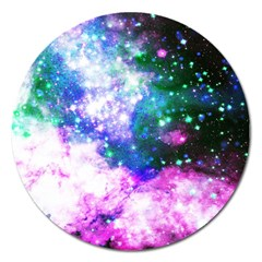 Space Colors Magnet 5  (round) by ValentinaDesign