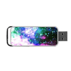Space Colors Portable Usb Flash (one Side) by ValentinaDesign