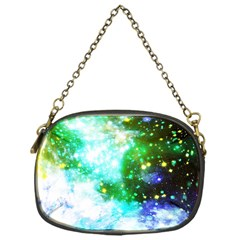 Space Colors Chain Purses (one Side)  by ValentinaDesign