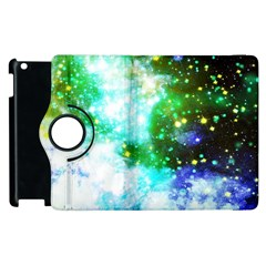 Space Colors Apple Ipad 2 Flip 360 Case by ValentinaDesign